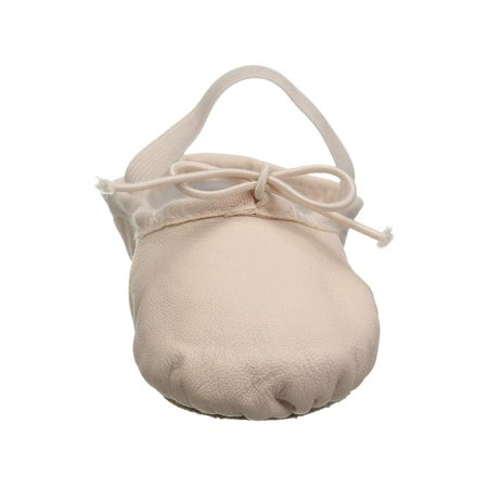 Bloch Flat (Kids Bloch Girls Dansoft Leather Bungee Ballet)
