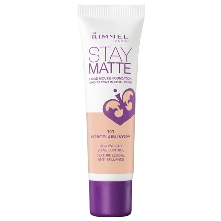 Matte Mousse Foundation (Rimmel Stay Matte Liquid Mousse Foundation in 101 Porcelain)