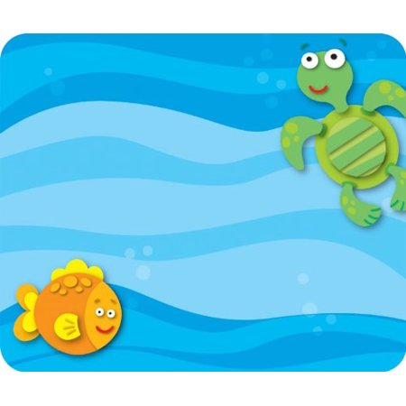 Carson Dellosa Sea Life Name Tags (150009), 40 self-adhesive name tags per pack These convenient, self-adhesive name tags are ideal for labeling, reminders, calendar and homework notes, and more! Each pack features 40 name tags, measuring 3  x 2.5 . Available in a variety of prints, name tags are fun addition to any classroom! If you have any further questions, please feel free to contact us. We look forward to serving you in the future.