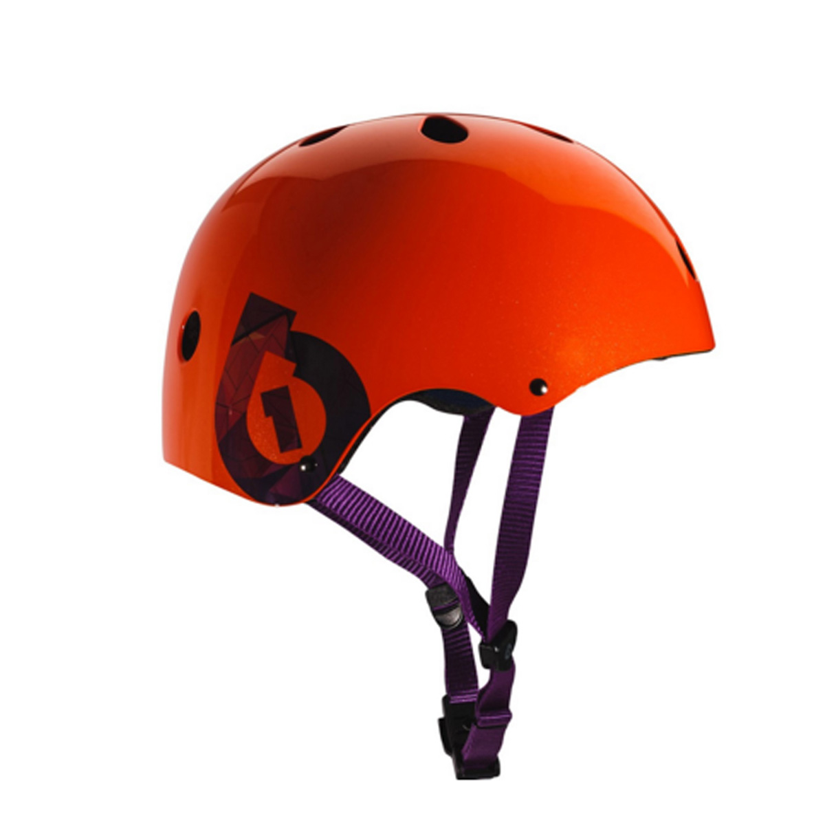 SixSixOne 2016 Dirt Lid Traditional Skate and Multi-Sport Helmet - 7123