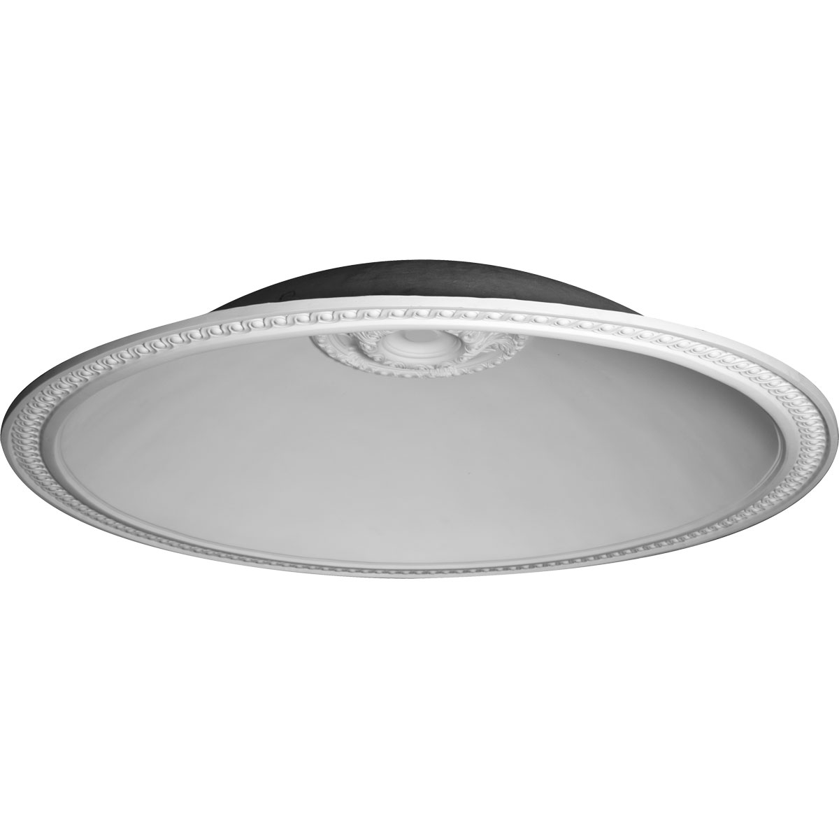 "79 1/2""OD x 70 1/2""ID x 16 1/4""D, Hillsborough Running Coin Ceiling Dome, 4 1/2""W Trim (70 1/2"" Diameter x 16 1/2"" Rough Opening)"