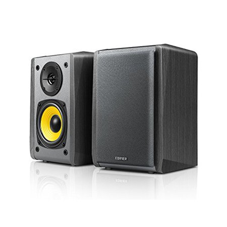 "Edifier R1010BT - 4"" Bluetooth Wireless Creative Reference Multimedia Monitors - Studio Monitor Speaker (Pair) 24 Watts RMS - Black"