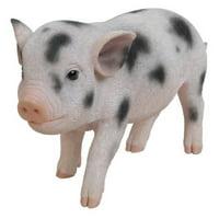 HI-LINE GIFT LTD. STANDING BABY PIG W/BLACK SPOTS