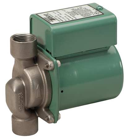 TACO Potable Circulating Pump,1/40HP,Flanged 006-ST8Y