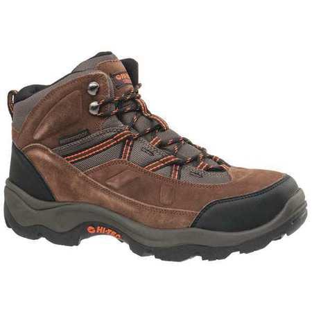 Hi-Tec Size 11-1 2 Steel Toe Work Boots, Men's, Brown, EEE, 57009W by Hi-Tec