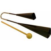 Suzuki Musical Instrument Corporation AB-200 Agogo Bells with Wood Strikers