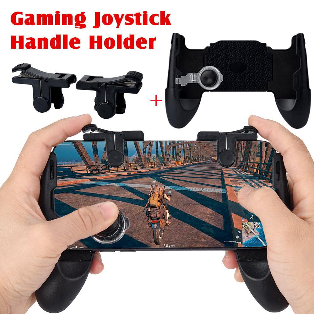 Gaming Joystick Handle Holder Controller Phone Holder+ Shooter For PUBG