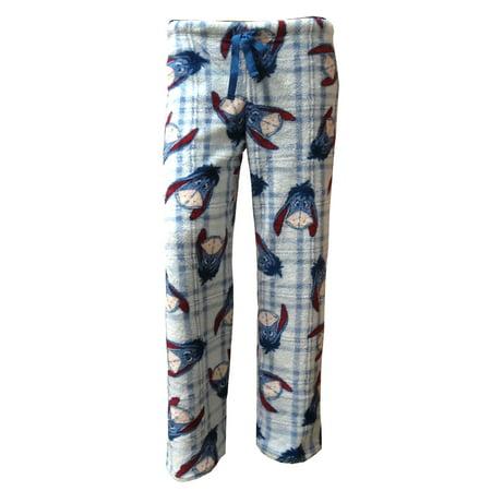 Disney Women's Winnie the Pooh Eeyore Plush Lounge Pants