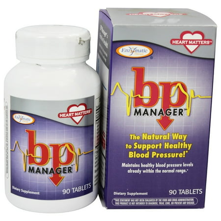 Enzymatic Therapy BP Manager 90 Tablets ()