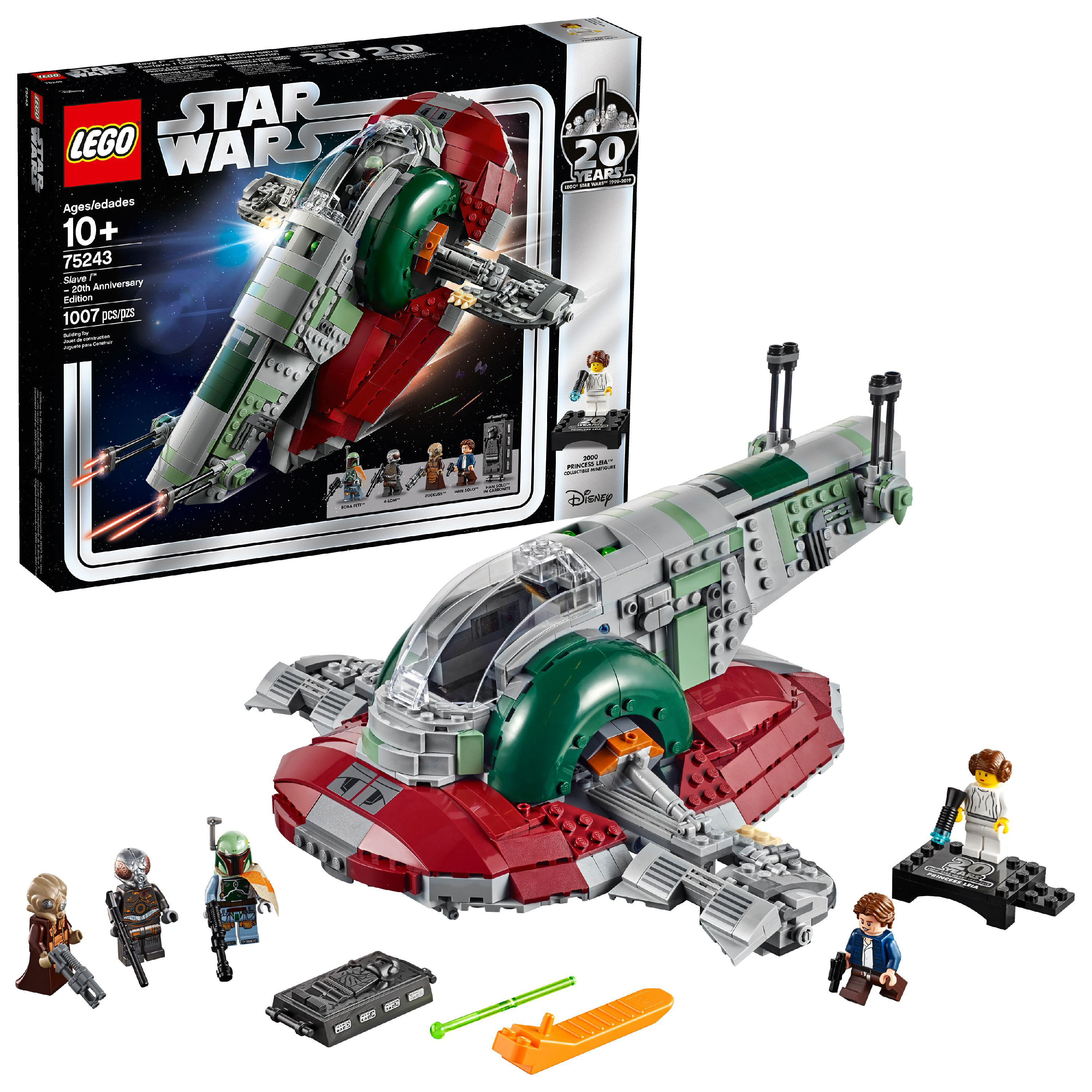 LEGO Star Wars Slave l – 20th Anniversary Collector Edition Collectible Model Building Kit 75243