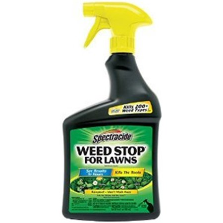 Spectracide Weed Stop For Lawns, Ready-to-Use, 32-fl (Best Grow Kit For Weed)