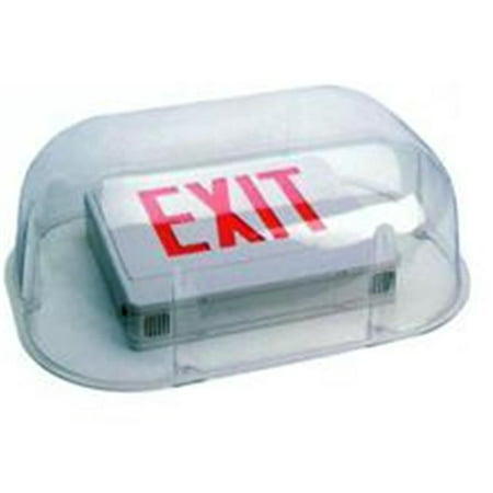 Morris Products 73093 polycarbonate Vandal - Sortie Enviromental de Shield et -clairage d'urgence A utiliser avec Combo Sortie - -clairage d'urgence - image 1 de 1
