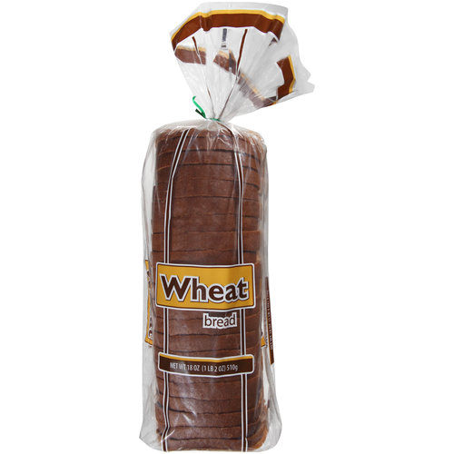 Great Value Wheat Bread, 18oz