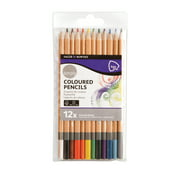 Daler-Rowney Simply Assorted Colored Pencils, 12 Piece