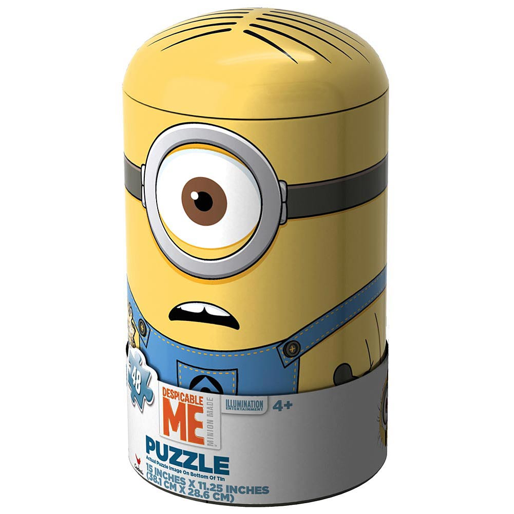 Minion Capsule 48 Piece Puzzle,  Animated Movies by Cardinal