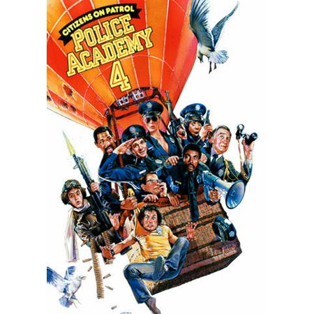 Police Academy 4: Citizens on Patrol (Vudu Digital Video on Demand) - Police Academy Graduation Gifts