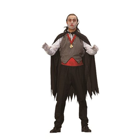 Dracula Cape   Vest Costume - Walmart.com a5f84b6627253