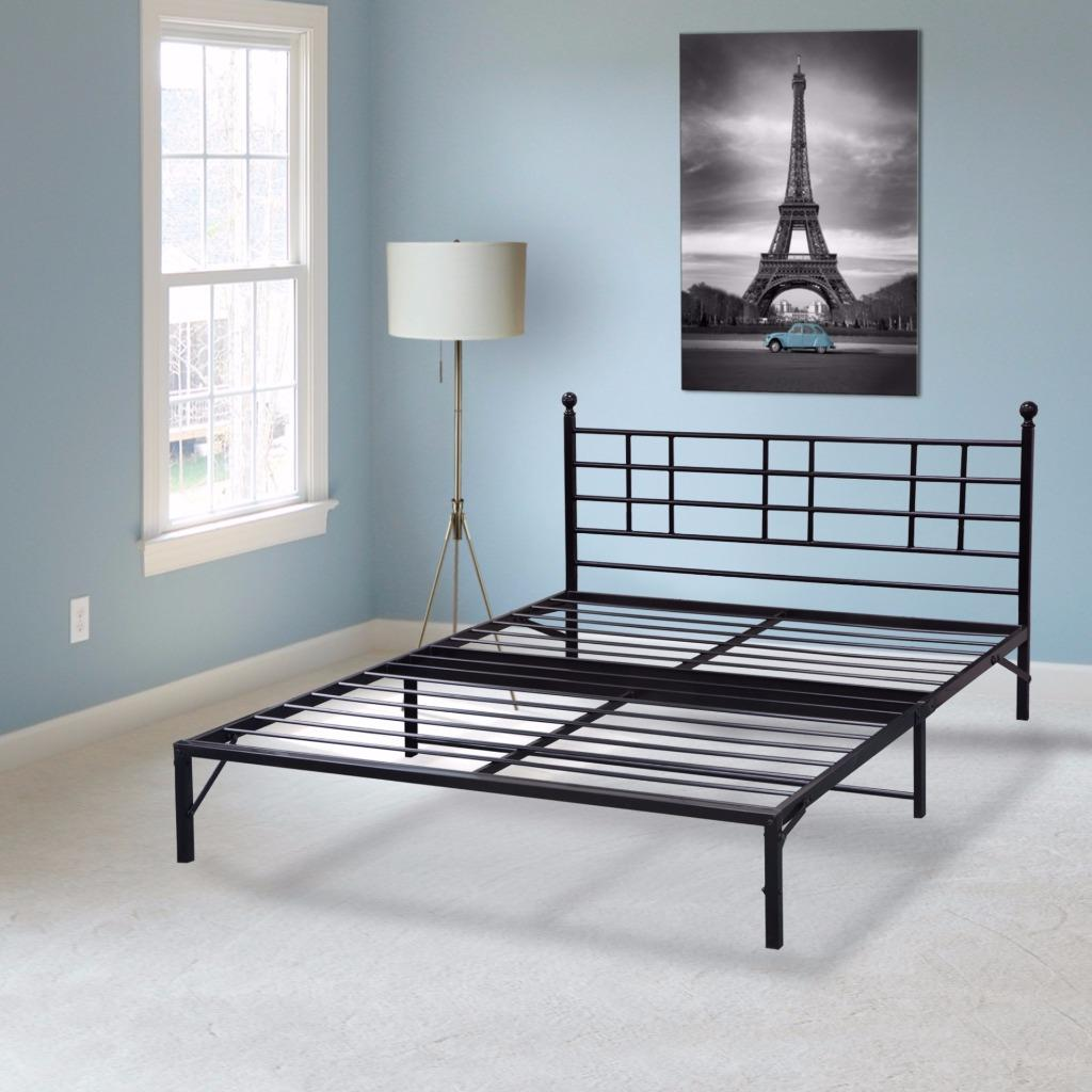 Best Price Mattress Model L Easy Set-up Bed Frame, Multiple Sizes
