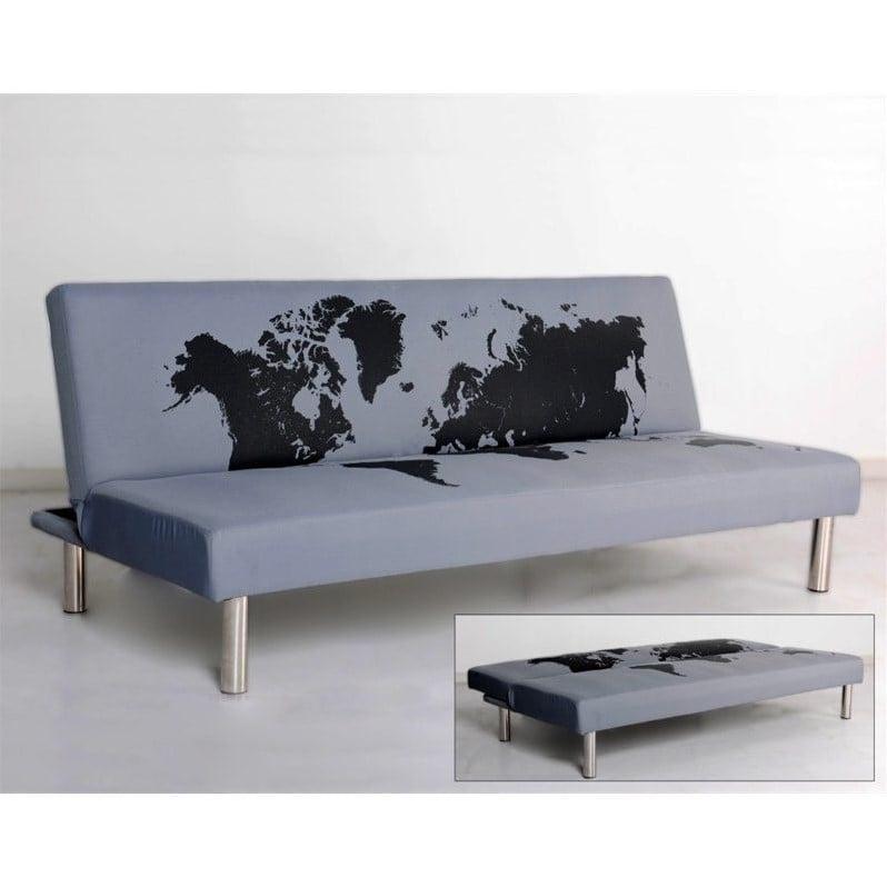 Primo International Best Choice Fabric Convertible Sofa i...