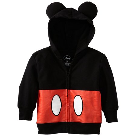Disney Boys 2-7 Mickey Mouse Hoody Toddler (Buy Mickey Mouse Mascot Costume)