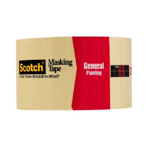 """3M COMPANY 2050-3A 2.83""""x60YD General Purpose Mask Tape"""