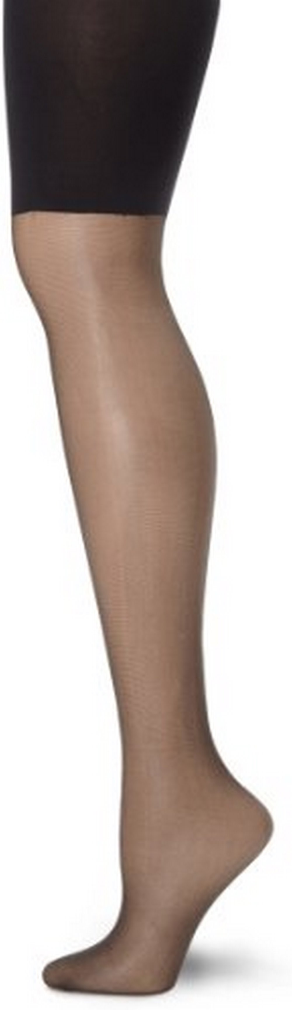 699bfeefb4 L eggs - L`eggs Profiles Women`s Moderate Control Mid-Thigh Toner Silky  Sheer Pantyhose