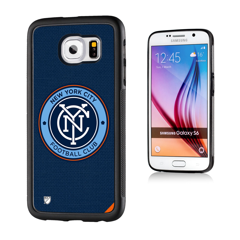 New York City FC Solid Galaxy S6 Bumper Case