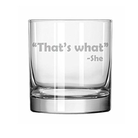 11 oz Rocks Whiskey Highball Glass Funny That
