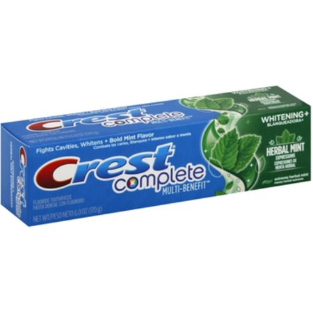 4 Pack - Crest Whitening Expressions Toothpaste, Extreme Herbal Mint 6 oz