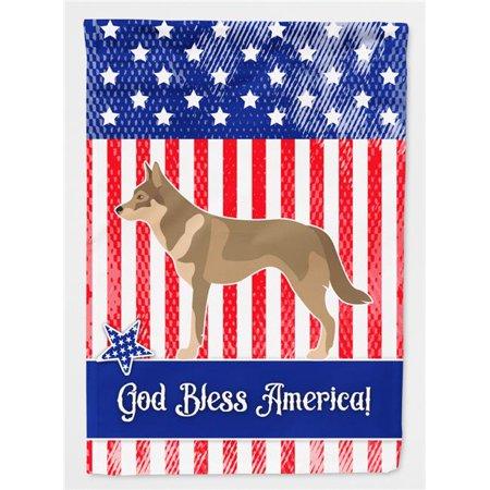Carolines Treasures BB8416CHF Czechoslovakian Wolfdog American Canvas House Flag - image 1 of 1