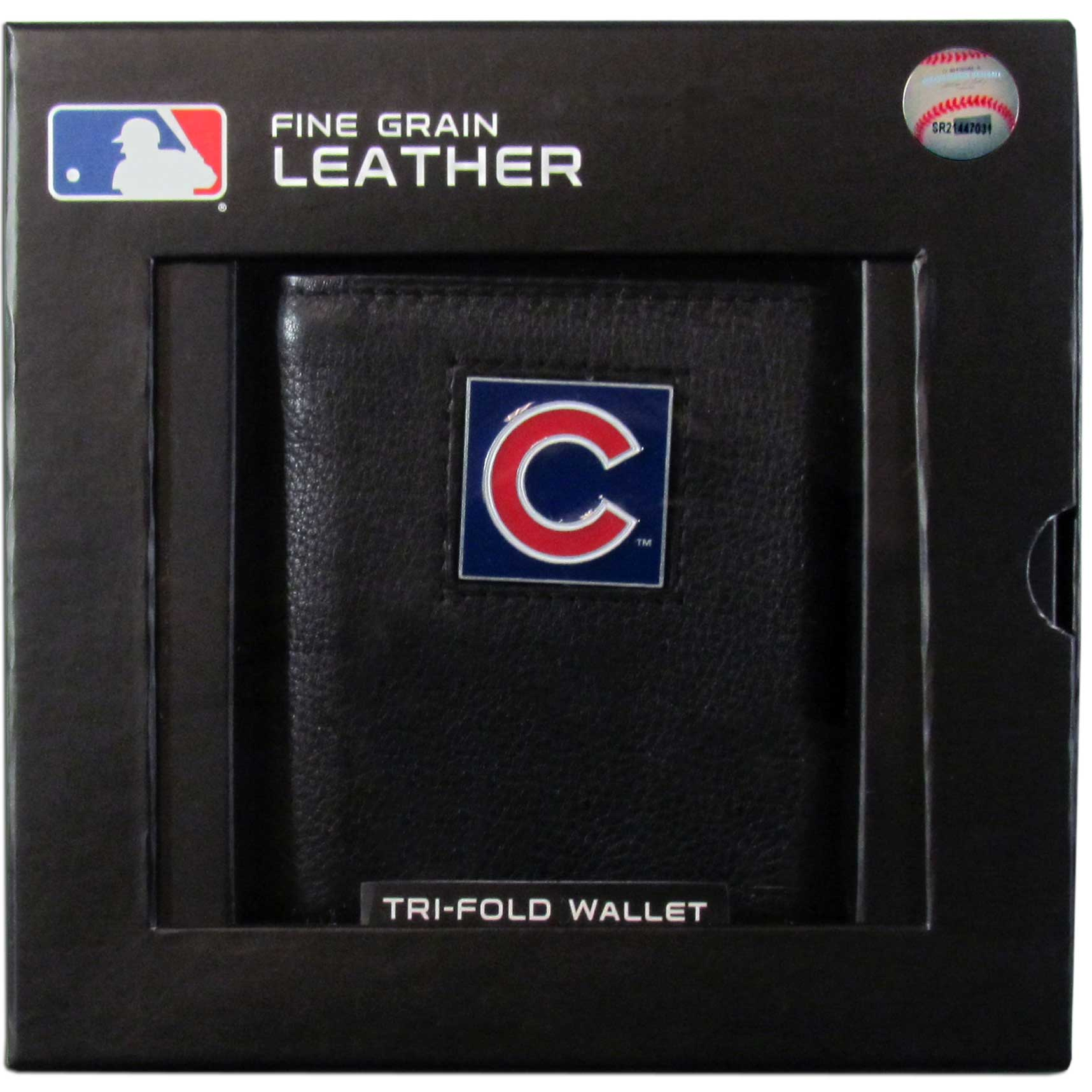 MLB Cubs Tri-fold Wallet - Embossing Personalized Gift Item
