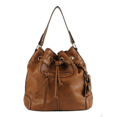 Scarleton Large Drawstring HandbagH1078