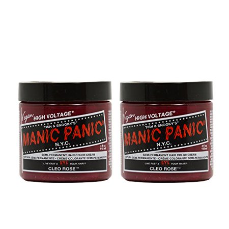 Manic Panic Semi-Permanent Hair Color Cream - Cleo Rose 4oz