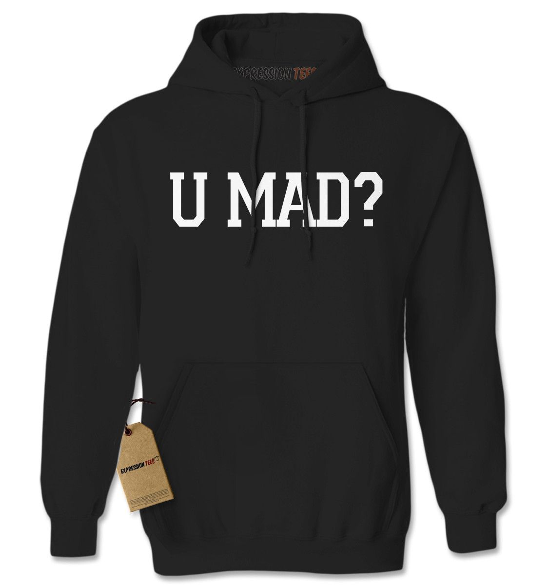 U Mad? You Mad? Adult Hoodie Sweatshirt