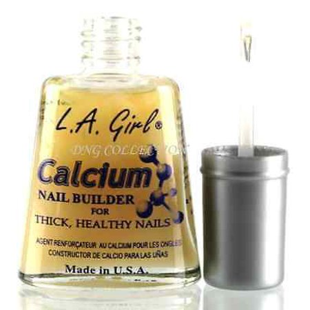 LWS LA Wholesale Store  L.A. Girl Nail Treatment for Strong, Thick, Healthy Nails Calcium, Garlic *USA* (Healthy Flexible Nails)