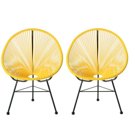 Acapulco Lounge Chair, Yellow, Set of 2 ()