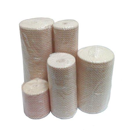 Elastic Bandage Velcro (Premium Elastic Bandage with Velcro, 2 x 5)