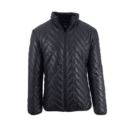 Mens Puffer Jacket Diamond - Diamond Quilted Coat