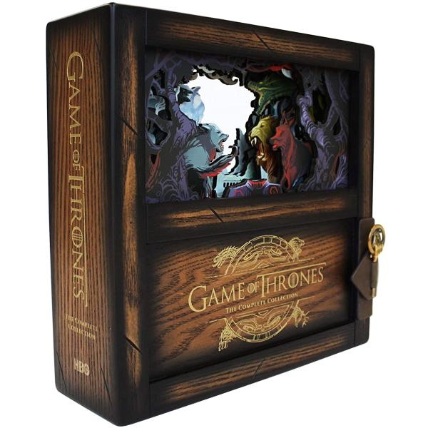 Game Of Thrones The Complete Collection Collector S Edition Seasons 1 8 Blu Ray Box Set Walmart Canada