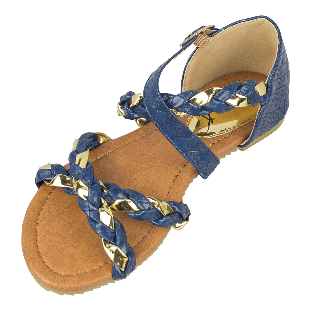 Victoria K Braided Fashion Sandals