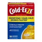 Cold-EEZE Natural Honey Lemon Flavor Lozenges, 18 ct