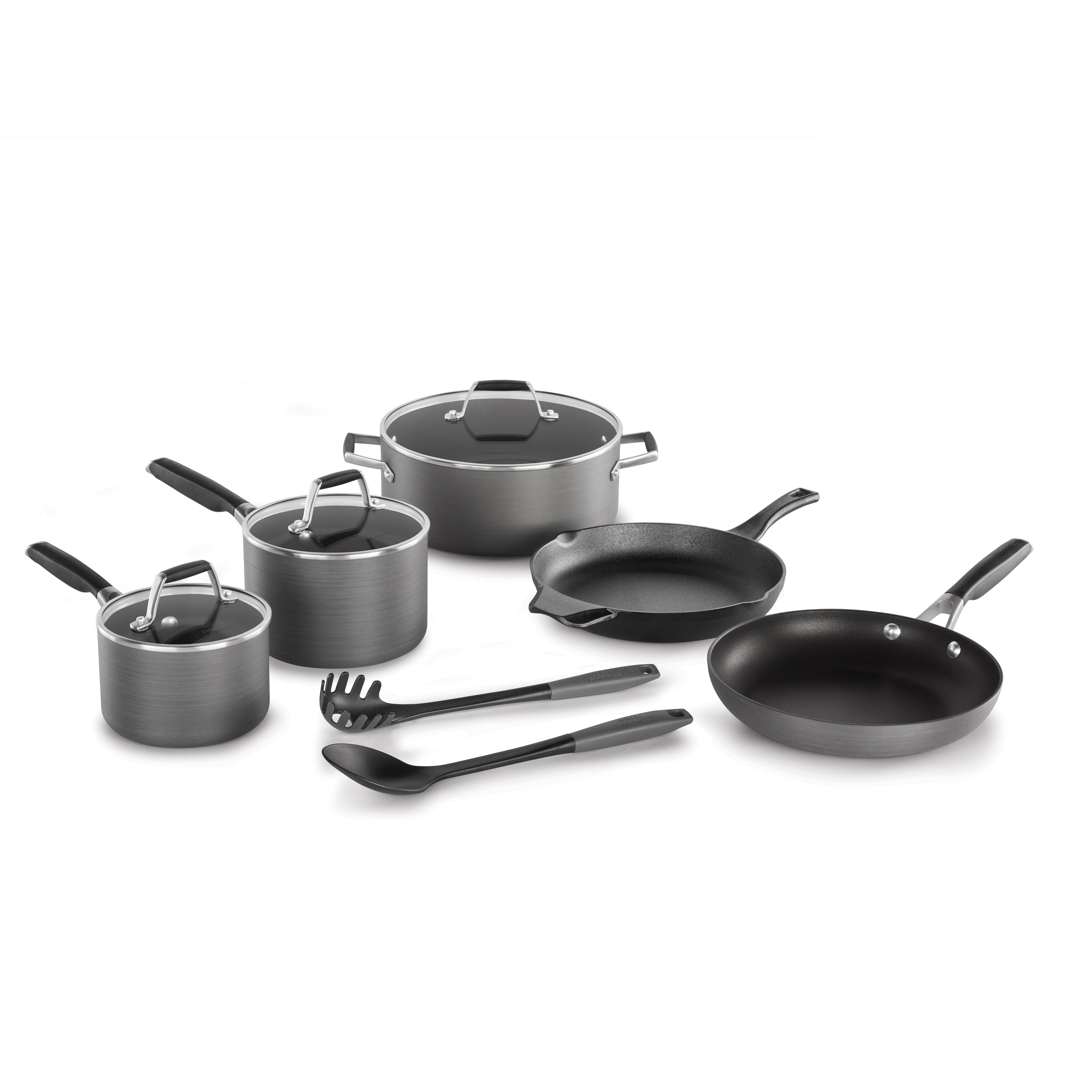 Select by Calphalon Hard-Anodized Nonstick 10-Piece Cookware Set