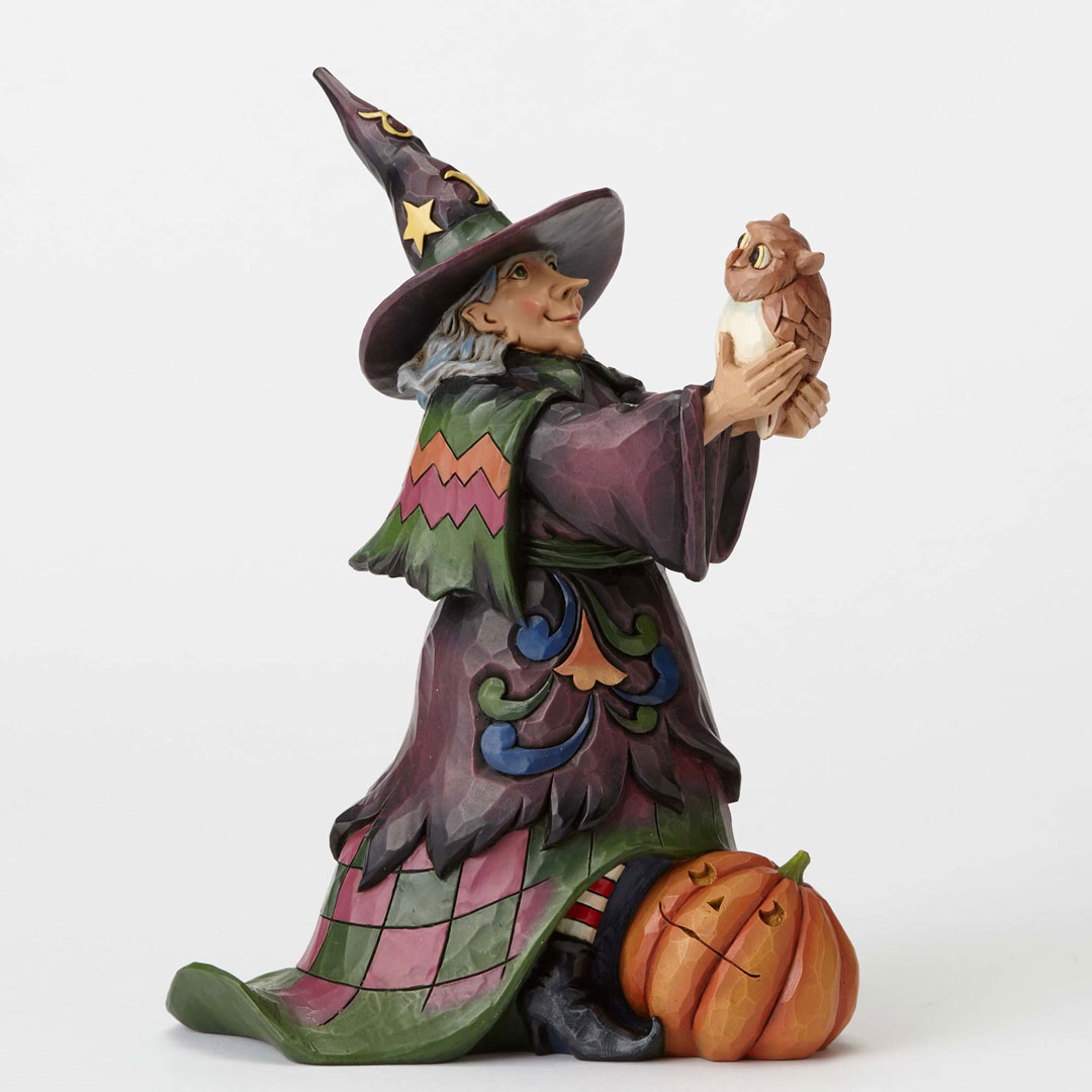 Jim Shore Heartwood Creek Witch with Owl 4053862 New 2016