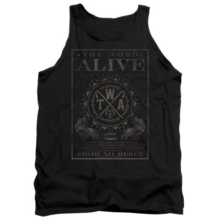 The Word Alive - Show No Mercy - Tank Top - X-Large