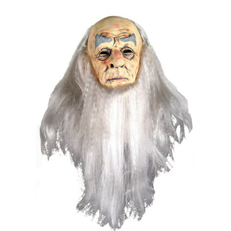 Wizard Deluxe Mask Adult Halloween Accessory - Official Deluxe Halloween Michael Myers Mask