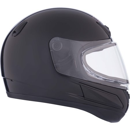 CKX Solid VGK1 Full-Face Helmet, Winter - Youth Double Shield (Youth Snowmobile Helmet)