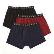 Boss Hugo Boss 0271773 Real Cool 100% Cotton Boxer - 3 Pack