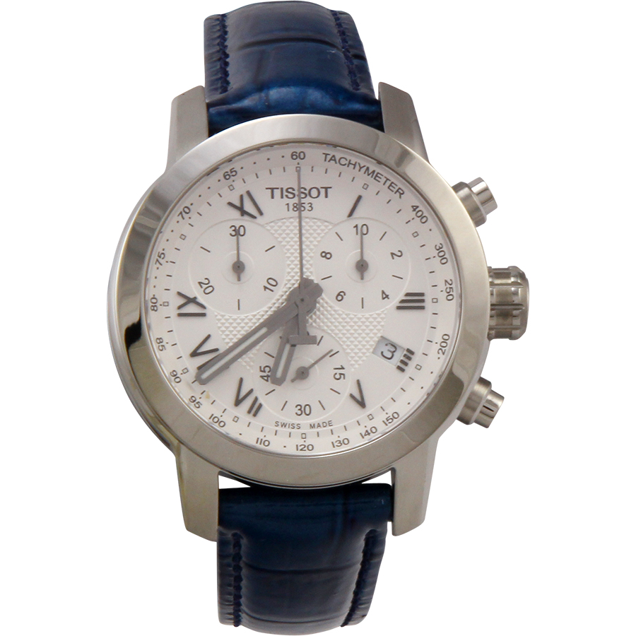 Tissot PRC 200 Chronograph Stainless Steel Ladies Watch T...