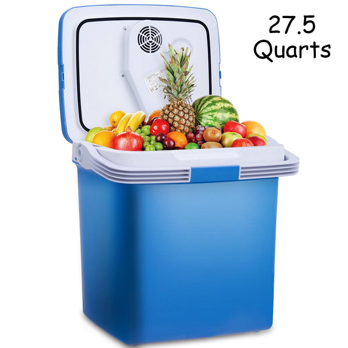 756a931a1b3 Gymax 26L Portable Electric Cooler Fridge Food Warmer Digital Plug ...