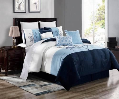 Brenda 14 Cal King 3 Piece Premium Ultra Soft Duvet Cover Bedding